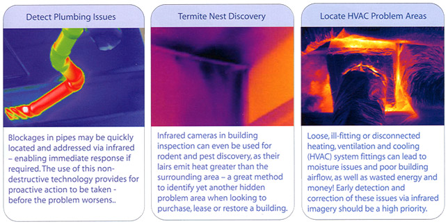 More uses for Thermal Imaging